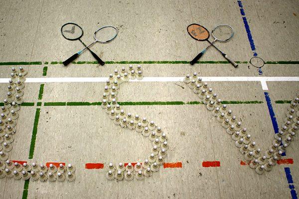 Schriftzug LSV Badminton