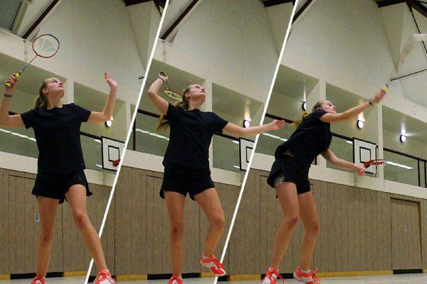 Jugend-Training beim LSV Badminton