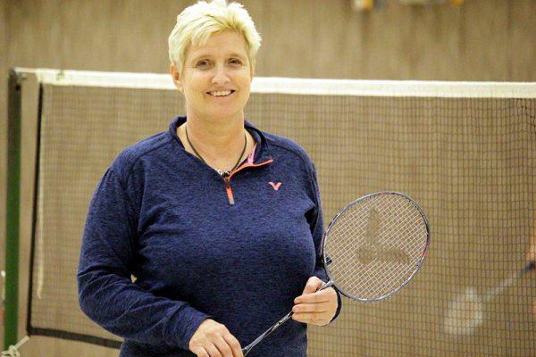 Helle Ankjaer Kicklitz - Trainerin LSV Badminton Lauenburg